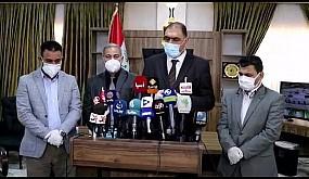 بالفيديو …خلية الازمة في ذي قار تنتقد دور وزارة الصحة في مواجهة كورونا