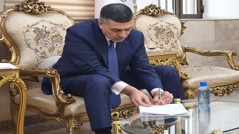 محافظ البصرة يخاطب السفارة الصينية في العراق لاستقدام وفد طبي لعلاج حالات مرض كورونا المستجد