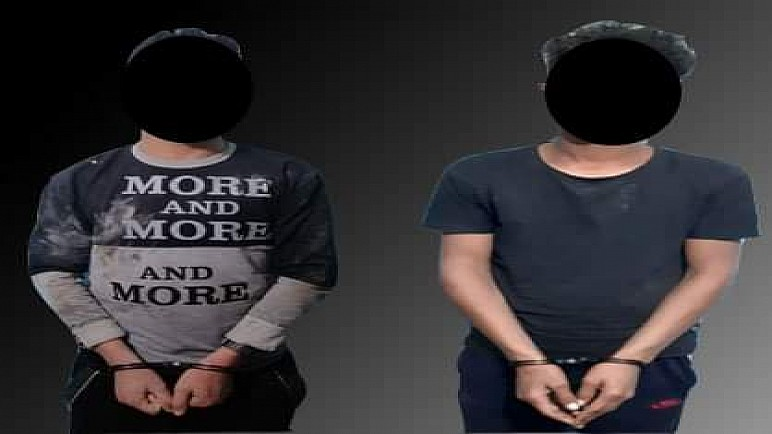 القبض على متهمين اثنين ارتكبا جريمة قتل بقضاء شمال ذي قار