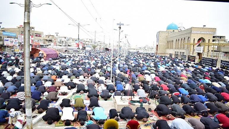 الصدر يلغي صلاة الجمعة ويحذر سكان مدينة الصدر في بغداد