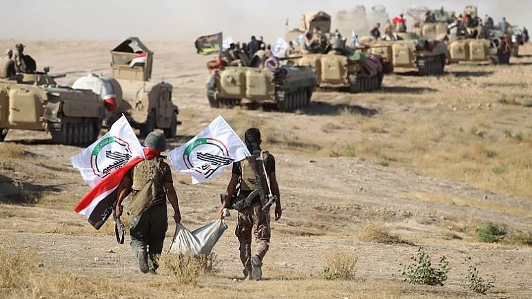 الحشد يعلن قتل عناصر بداعش تدمير اوكار بين ديالى وصلاح الدين