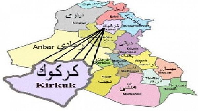عصابات داعش تستهدف باصا يقل منتسبين وتصيب منتسبا في الشرطة الاتحادية عند اطراف كركوك