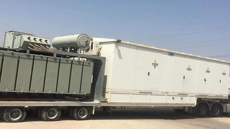 كهرباء ذي قار تعلن قرب نصب محطة متنقلة لمعالجة الاختناقات في مدينة الصدر