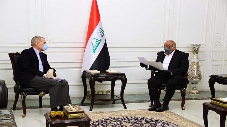 العراق وامريكا يرحبان بفتح حوار استراتيجي بين البلدين ويناقشان كورونا