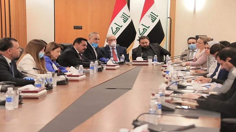 خلية الأزمة النيابية تشدد على ضرورة تسهيل عمل المنظمات الدولية في العراق
