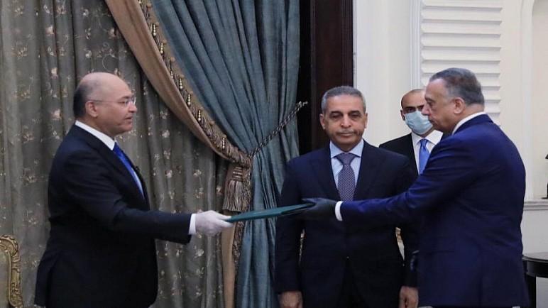 ترحيب إيراني امريكي بتكليف الكاظمي لرئاسة الحكومة