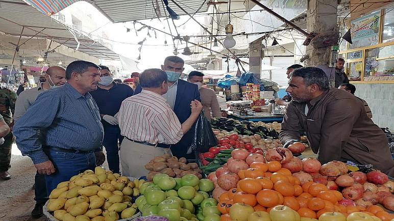 مفارز الجريمة المنظمة في ذي قار تعتقل 4 اشخاص رفعوا أسعار المواد الغذائية