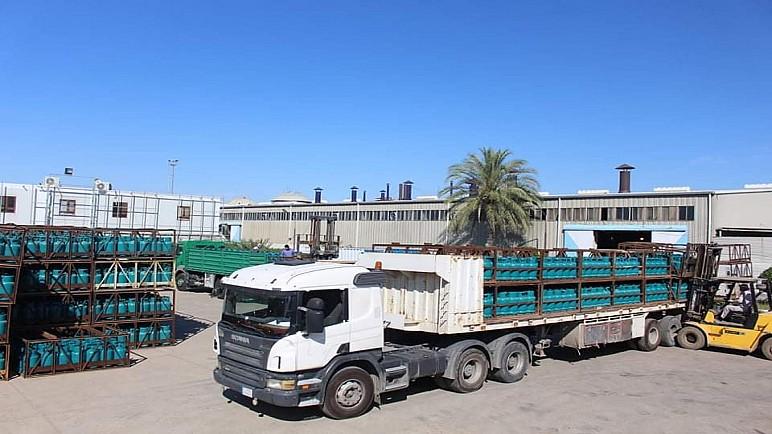 معمل تصنيع اسطوانات غاز الكوت يجهز معامل بغداد الحكومية ب 7 الاف اسطوانة