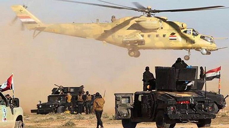 """انطلاق المرحلة الثالثة لعملية """" ابطال العراق"""" لملاحقة فلول داعش"""
