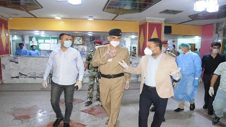 قائد شرطة ذي قار يصدر 4 توجيهات فورية بعد زيارته لمستشفى الحسين التعليمي