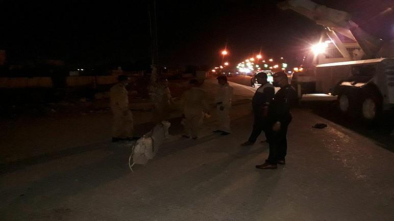 """بالصور .. القوات الأمنية تغلق شوارع الناصرية بـ""""الصبات الكونكريتية"""""""