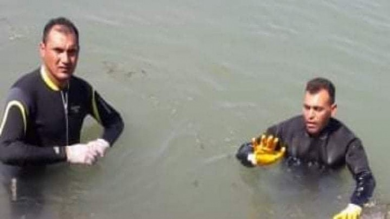 الديوانية: انتشال جثة شاب غريق بعد 40 ساعة من البحث عنها