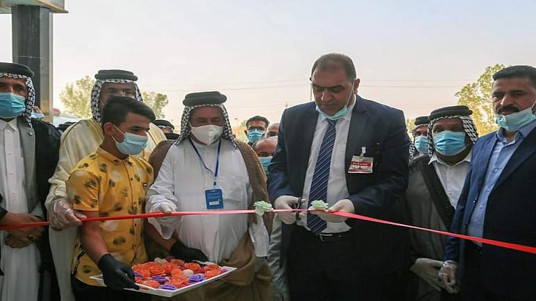 افتتاح مركز العزل لمصابي كورونا في قضاء الدواية بسعة 40 سريراً
