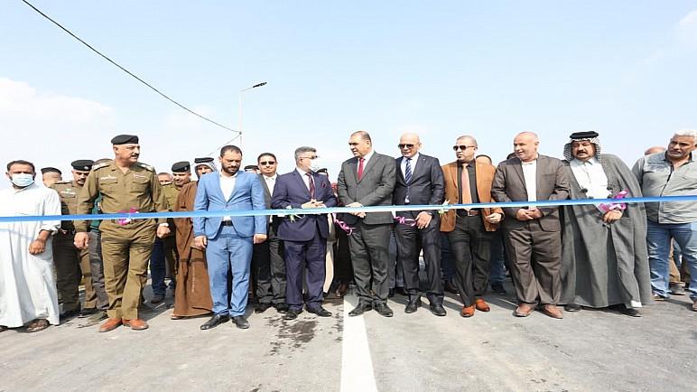 افتتاح جسر النصر في ذي قار بعد 8 سنوات من التلكؤات