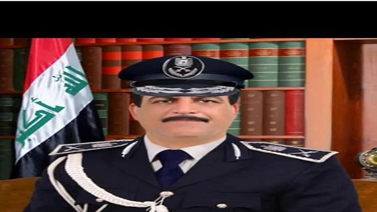 اللواء عودة الجابري يباشر مهامه قائداً لشرطة ذي قار