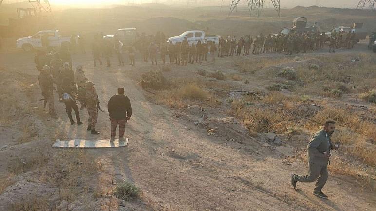 الحشد الشعبي يواصل تقدمه في جبال مكحول ويعثر على عدة مضافات وأنفاق لداعش