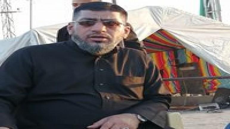 استهداف منزل احد ناشطي تظاهرات الناصرية شمال المحافظة . صور