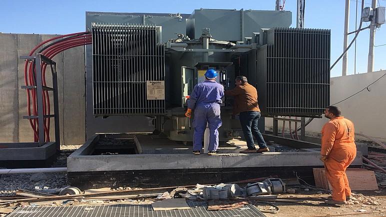 كهرباء ذي قار تُنجز الصيانة الاضطرارية لمحطة سومر الثانويّة