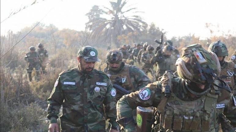 اللواء 43 في الحشد الشعبي ينفذ عملية أمنية جنوب صلاح الدين